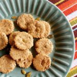 Pumpkin oat biscuits